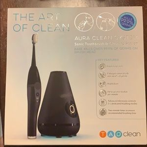 TAO Clean Sonic Electric Toothbrush & Cleaning